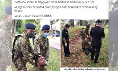 Anggota Tentera Bantu Polis, Ini Kisah Sebenarnya