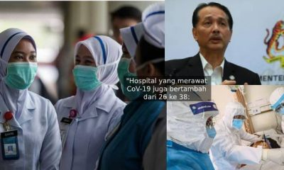 Malaysia catat jumlah pesakit Paling Tinggi 'Sembuh'