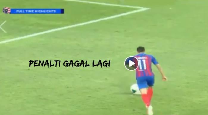 Penalti Tidak Berjaya, JDT Hanya Dapat 1 Mata Di Stadium Ibrahim