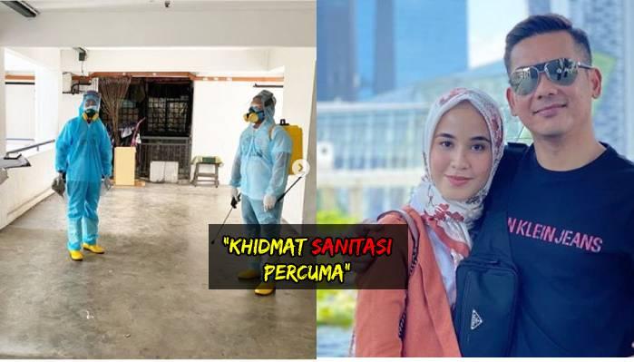 Bella Dally dan Suami Tawar Khidmat Nyahcemar di Masjid dan Surau Percuma