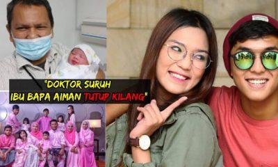 Tahniah ! Aiman Tino dapat adik lagi, Doktor Suruh 'Tutup Kilang' - Bapa Aiman