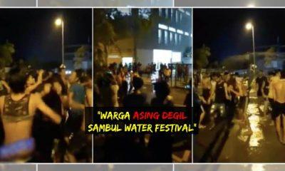 Warga Myanmar sakan buat Water Festival di Selangor